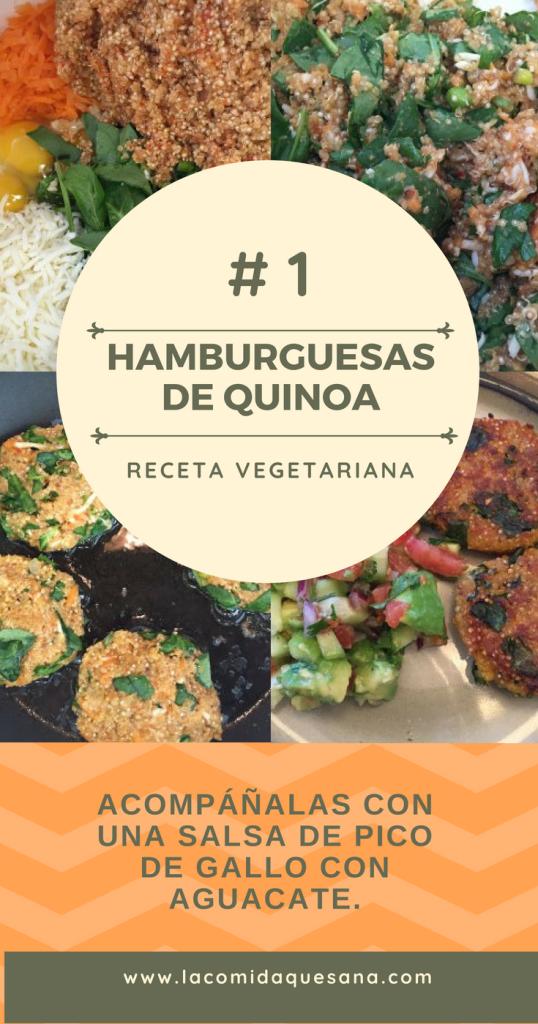hamburguesas de quinoa